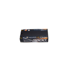 Maclan Racing MCL6009  Maclan V2 2S 7.6v 3600mAh 120C HV LiPo w/ 5mm Bullets