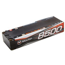 Maclan Racing MCL6015  Maclan V3 2S 7.6v 8500mAh 120C HV Stick LiPo w/ 5mm Bullets