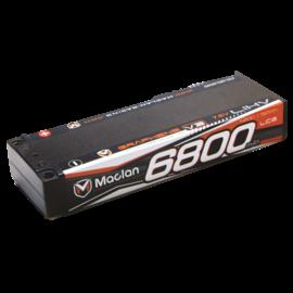 Maclan Racing MCL6020  Maclan V3 2S 7.6v 6800mAh 120C HV LCG LiPo w/ 5mm Bullets