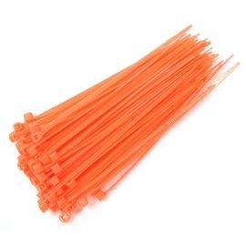 Integy C23386FLUORESCORANGE  Plastic Tie Wrap / Cable Tie (100)