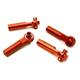 Integy C28067RED  3mm Metal Ball End 35mm Long M4 Normal(2)Reverse(2)