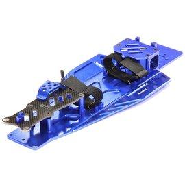 Integy T8655BLUE  Blue Performance Conversion Chassis Kit Rustler & Bandit