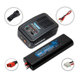 Team Associated ASC27201C2 REEDY 324-S Charger & 2s 3300mah Lipo Pack