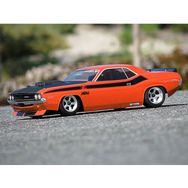 HPI HPI105106  1970 Dodge Challenger Clear Body (200mm)