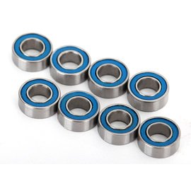 Traxxas TRA7019R  4x8x3mm Blue Rubber Sealed Ball Bearings (8) UDR