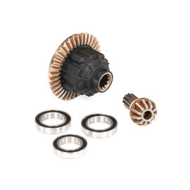 Traxxas TRA7881  Complete Rear Differential: X-Maxx
