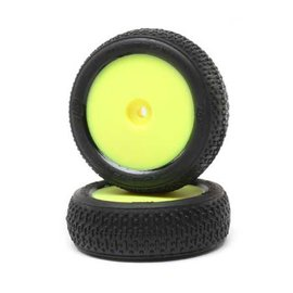 TLR / Team Losi LOS41015  Taper Pin FR Mounted Yellow (2): Mini-B