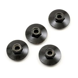 HPI HPIZ680  Flanged Locknut 5X8mm Black (4)