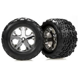 Traxxas TRA3669 2.8 Talon Tire on All-Star Chrome Front (2)