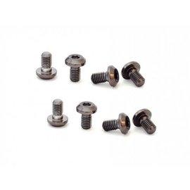 Awesomatix A800-SB3X5AL  3x5mm Alloy Button Head Hex Screws (8)