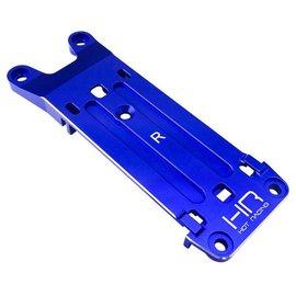 HOT RACING HRAXMX09M06  Blue Aluminum Rear Pin Mount Tie Bar for Traxxas X-Maxx