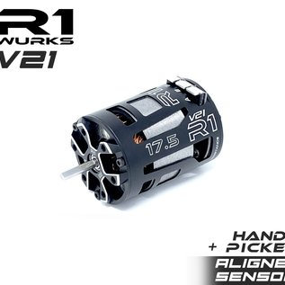 R1wurks 020010-3HP  R1 17.5 V21 Motor W/Aligned Sensor + Hand Picked Stator ROAR