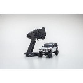 Kyosho KYO32521W  White Jeep Wrangler Unlimited Rubicon Mini-Z RTR