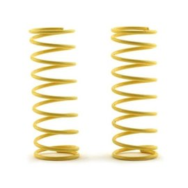 """Custom Works R/C CSW1805  1.75""""  Long Shock Spring (2) (5lb/Yellow) for Outlaw & Rocket"""