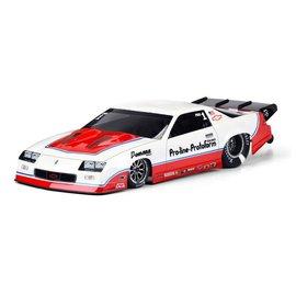 Proline Racing PRO3564-00  1985 Chevrolet Camaro IROC-Z Clear Body Slash Drag