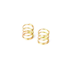 Xray XRA372186  Front Coil Spring for 4mm Pin C=1.5-1.7 - Gold (2)  X12  2021