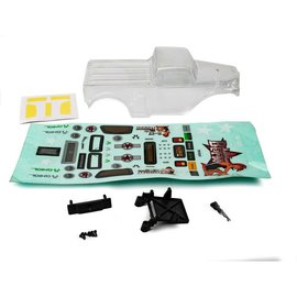 Axial Racing AXI200003  B-17 Betty Clear & Precut Body: SCX24