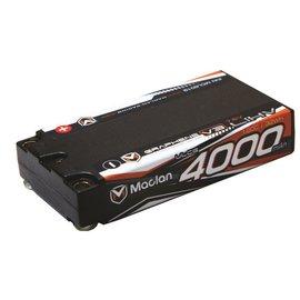 Maclan Racing HADMCL6019  Maclan 2S 7.6V 4000mAh 120C HV ULCG Shorty LiPo w/ 5mm Bullets