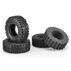 "J Concepts JCO3164-02  Landmines Scale Country Class 1 1.9"" Crawler Tires (2) (Green)"