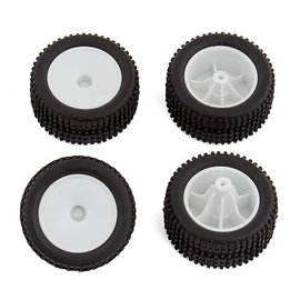 Team Associated ASC21435  RC28T Mounted Wheels and Tires