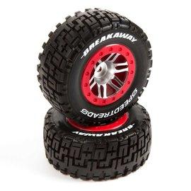 Duratrax DTXC2939  SpeedTreads Breakaway SC Tire Front Mounted (2)