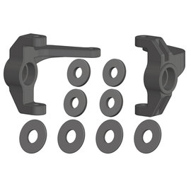 Team Corally COR00250-029  Steering Block - Left/Right - Composite - 1 Set: Mammoth, Moxoo, Triton