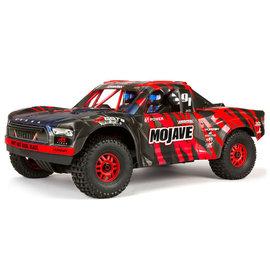 Arrma ARA7604V2T2  Red/Black 1/7 MOJAVE 6S V2 4WD BLX Desert Truck w Spektrum  RTR