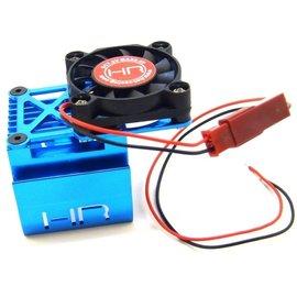 HOT RACING HRAMH550T16  Universal Motor Clip-on Heat Sink & Fan (550/540)