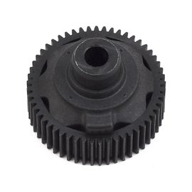 Xray XRA324953-G  Graphite Composite Gear Differential Case with Pulley 53T