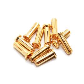 Maclan Racing MCL4042  MAX CURRENT 5mm Gold Bullet Connectors (10 pcs)