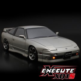 Xpress XP-90012  XQ1S 1/10 Assembled Kit ARTR Touring Car w/ ABC Hobby Nissan 180SX Body