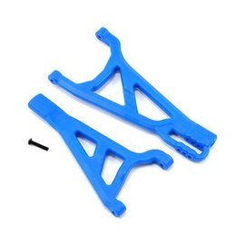 RPM R/C Products RPM70375  Front Left A-arms Blue Summit, Revo & E-Revo