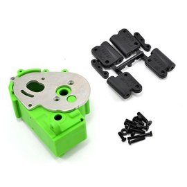 RPM R/C Products RPM73614 Hybrid Green Gearbox Housing & Rear Mounts for 2wd Vehicles