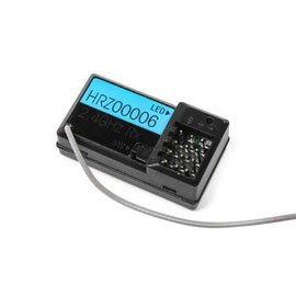 HRZ00006  2.4Ghz Receiver WP 3-Channel works with Proboat and mini t 2.0 transmitters