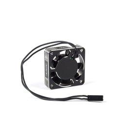 Avid RC AV10060-40  Aluminum HV High Speed Cooling Fan   Black/Silver   40mm