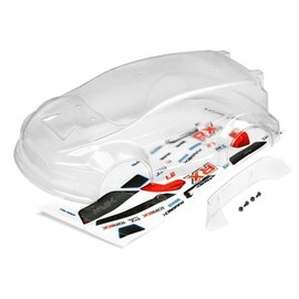 Maverick RC MVK28076  Clear Rally Body w/ Decals: Ion RX