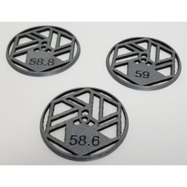 Awesomatix BS-GC-009  BS Works 1/10 Wheel Glue Guides