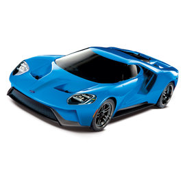 Traxxas TRA83056-4  Ford GT BlueX 1/10 Scale AWD Supercar RTR w/ XL-5 & TSM