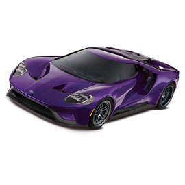 Traxxas TRA83056-4  Ford GT Purple 1/10 Scale AWD Supercar RTR w/ XL-5 & TSM
