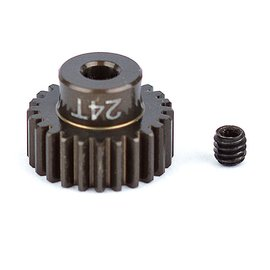 Team Associated ASC1342 FT Aluminum Pinion Gear, 24T 48P, 1/8 shaft
