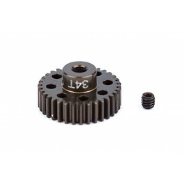Team Associated ASC1352 FT Aluminum Pinion Gear, 34T 48P, 1/8 shaft