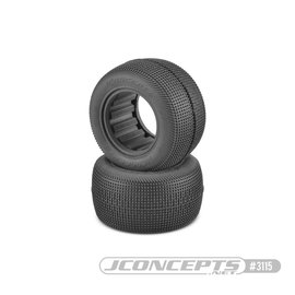 J Concepts JCO3115-02  Sprinter Green Compound Off Road Tires, w/ Inserts