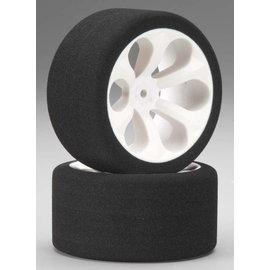JACO JAC2050LP 1/10 Low Profile Pink Rear Foam Tires Mounted