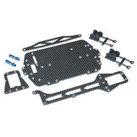 Traxxas TRA7525  LaTrax Carbon Fiber Conversion Kit