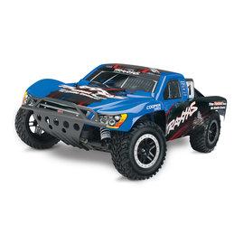 Traxxas TRA44056-3  Blue Nitro Slash 3.3 1/10 2WD RTR SC Truck