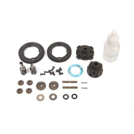 TLR / Team Losi TLR332085  Center Diff Complete Metal: 22X-4