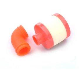 Dynamite DYN2613  Turbo Flow Air Filter: .21