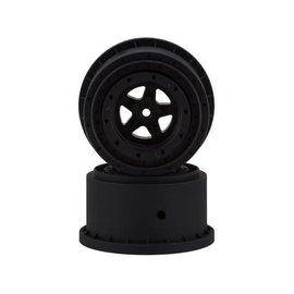J Concepts JCO3415B  Starfish Mambo Beadlock SE Rear Drag Wheels (Black) (2)