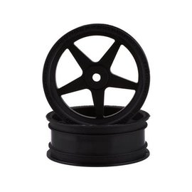 "J Concepts JCO3406B  Starfish SE 2.2"" Front Drag Racing Wheels (Black) (2)"