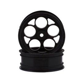 """J Concepts JCO3407B  Coil SE 2.2"""" Front Drag Racing Wheels (Black) (2)"""
